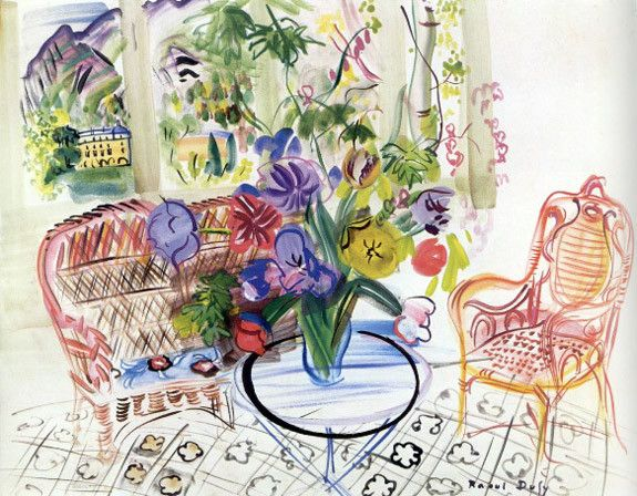 Raoul Dufy- remarkably similar to Matisse
