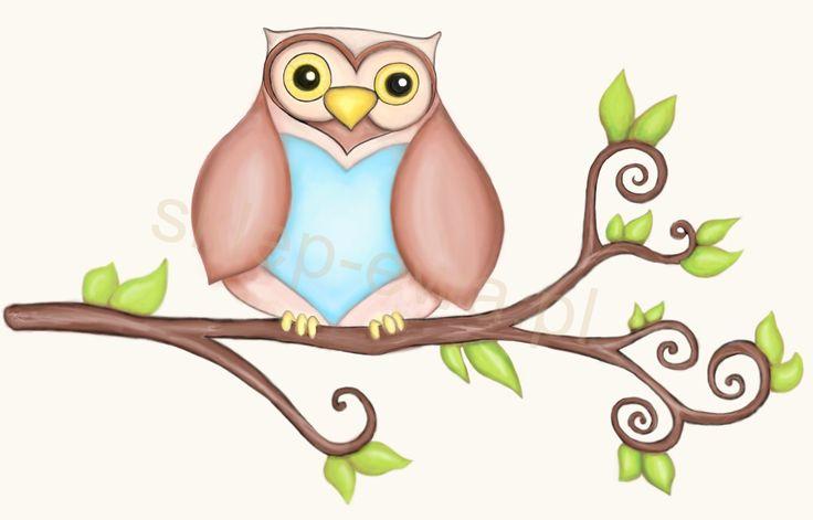 Our logo. Sweet owl Eve. Designed by Werciakol