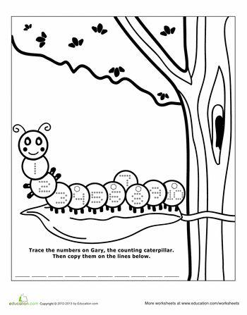 Best 25+ Counting caterpillar ideas on Pinterest