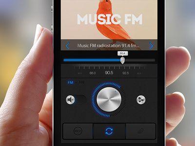 Online radio app