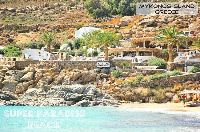 Super Paradise beach   GFH Travel: Stunning GREEK ISLANDS