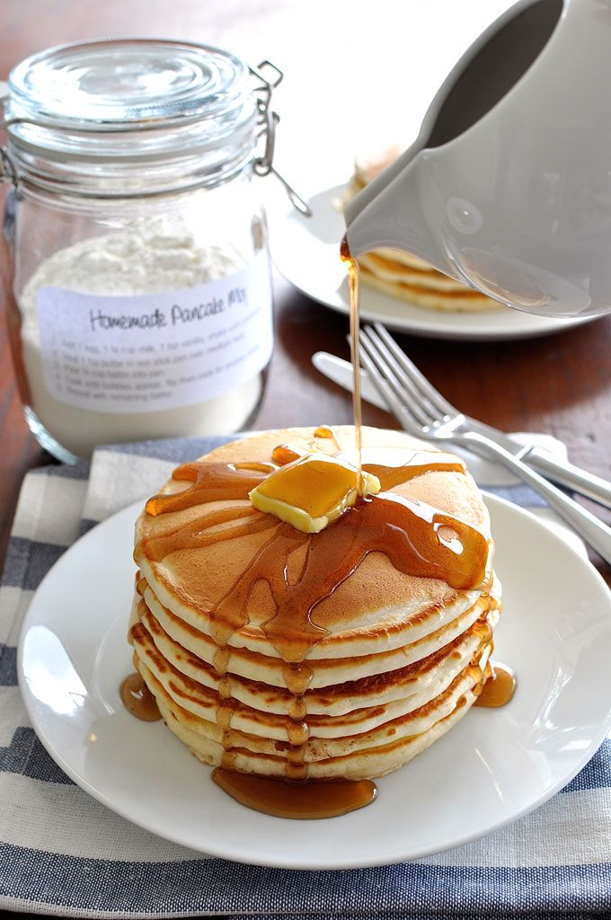 INSTANT CLASSIC PANCAKE MIX -- A classic no fail, simple pancake recipe. The batter is the perfect consistency so you can make neat round pancakes every time. A staple to pop into your RecipeTin app. Make a mix up and store it in a jar ready to use - just add the wet ingredients then shake!