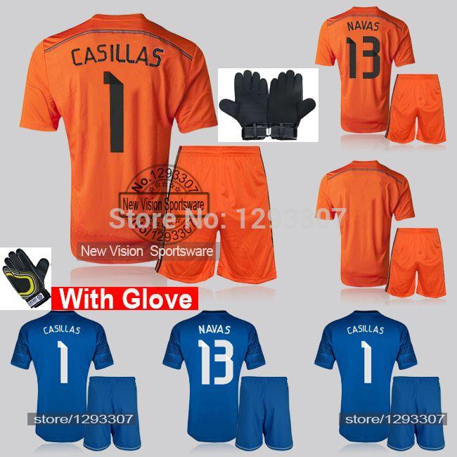 Купить товар2014 15 оранжевый и синий вратарь футбол комплект равномерное майка вратаря перчатки комплект икер касильяс нойер де хеа футбол рубашка наряд в категории Майки спортивныена AliExpress.    Здравствуй, мой друг, эти Футбол Комплект я               Включают                      Рубашка и шорты  O  R рубашки