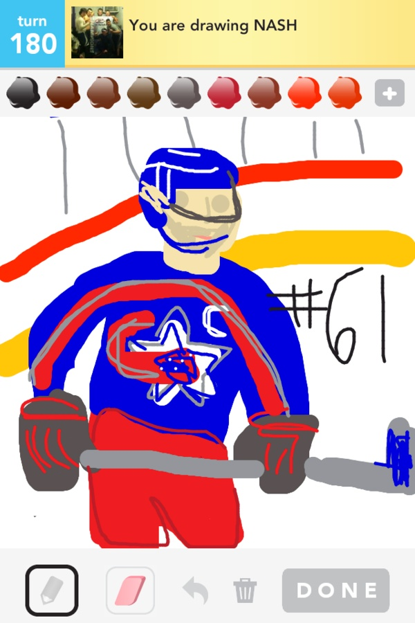 Thanks @will_the_thril!  @NHL sharing Draw Something pics on Pinterest