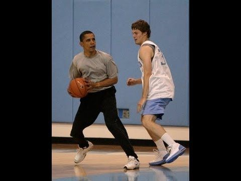President Barack Obama has game! Maybe one day we can play one on one. Fun Fact, we are both left handed.