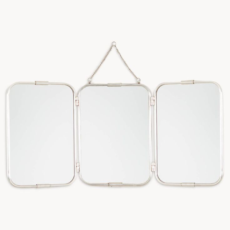 triptych folding wall mirrors - Google Search