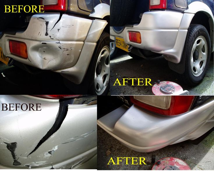You won't believe your eyes when you see the difference!  Feel #free to #call us today on 01332 402401  #bumper #repair #DEdr