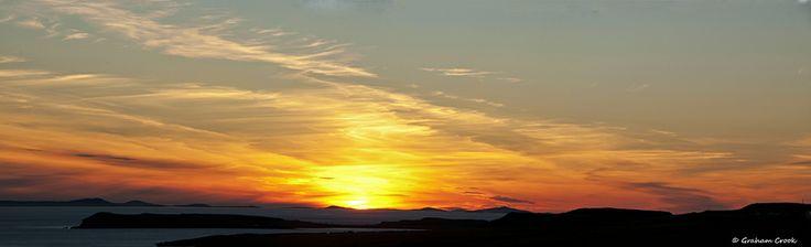 Sunset from Isle of Skye