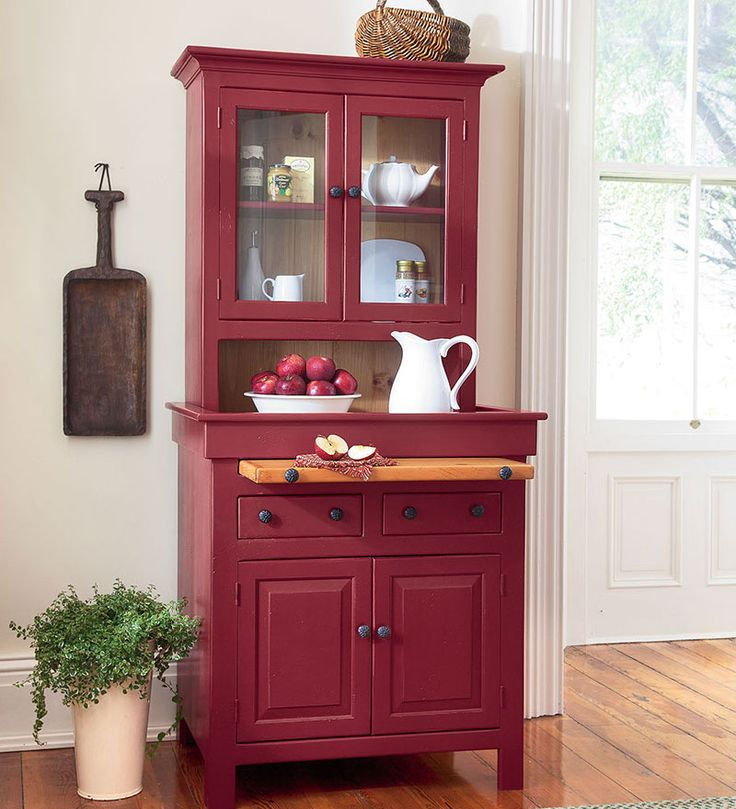 Kitchen Cabinets That Look Like Furniture: Best 25+ Red Hutch Ideas On Pinterest