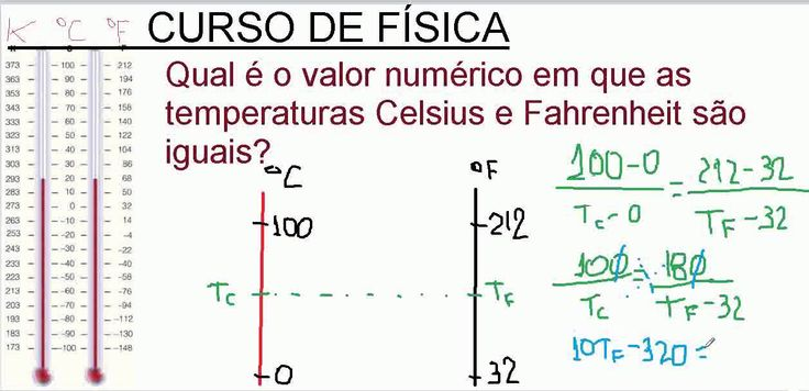 http://youtu.be/qzfwSElM68k  Conversão de unidades de Escala de temperatura Celsius, Fahrenheit e Kelvin Física com Matemática.