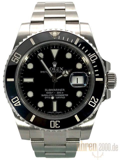 Rolex Submariner Date 116610LN gebraucht aus 2012