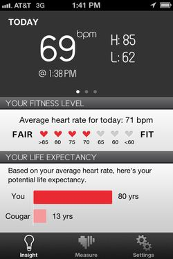 What's the ideal heart rate for a pregnant woman?