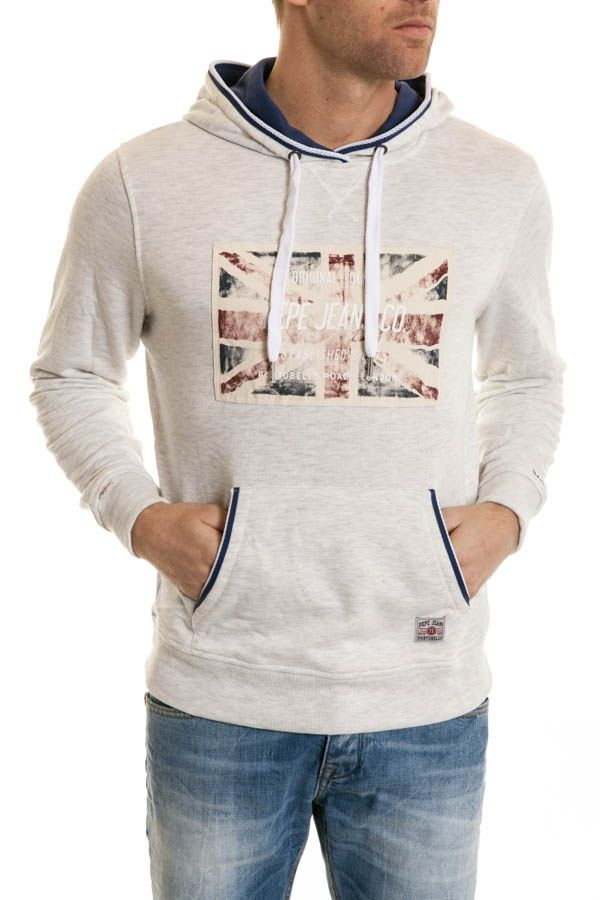 Pull/Sweatshirt Homme Pepe Jeans CABOT GREY MARL