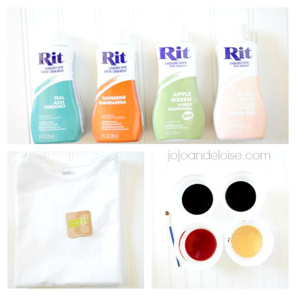 how to apply rit dye as a fabric paint with a paint brush it includes