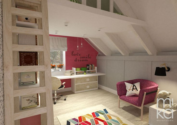 Girl's room in the attic