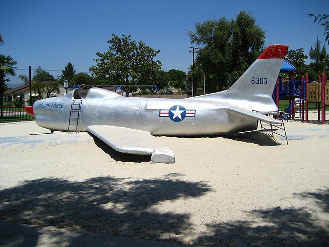 Palmview Park, West Covina, CA  I used to climb in that plane.  You can crawl from front to back on the inside!