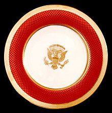 T have been wanting to an article on White House China for years.  I got a chance to visit the Ronald Reagan Library and they had an exhibit on White House China.  I hope you enjoy exploring this…