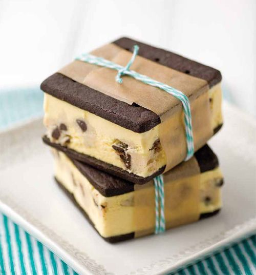 LOVE these!! Old-Fashioned Cookie Dough Ice Cream Sandwiches   Quirk Books : Publishers & Seekers of All Things Awesome