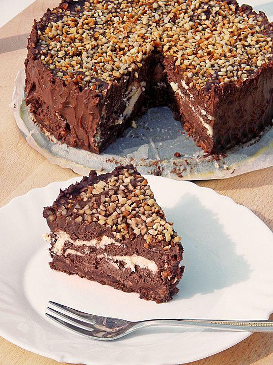 Rocher-Cheesecake (Rezept mit Bild) von Tequilawurm | Chefkoch.de