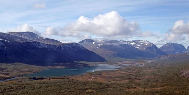 Kiruna - vi tog toget til Narvik - meget flot