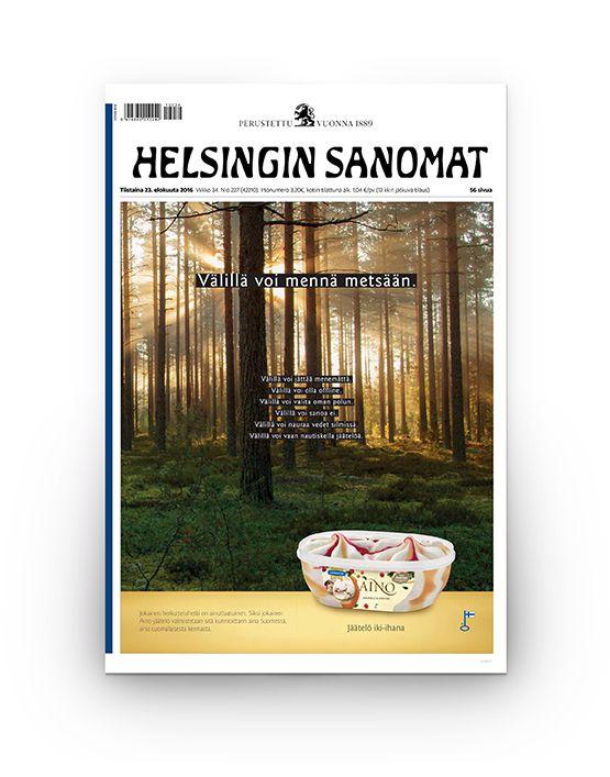 """Aino Manifesti """"Välillä voi"""" 02/2017"""