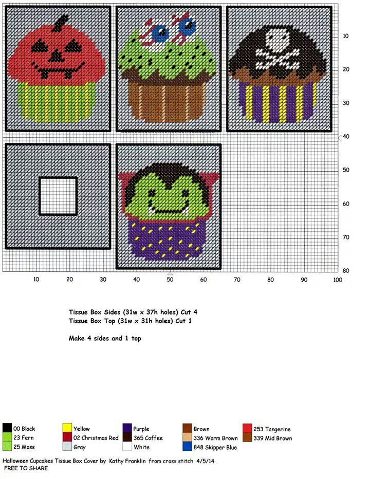 248 best halloween plastic canvas images on pinterest for Tissue box cover craft