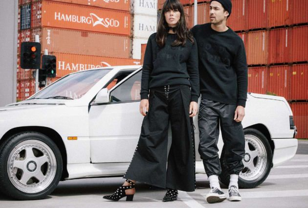 The brand's first collection sold out within months of its launch.