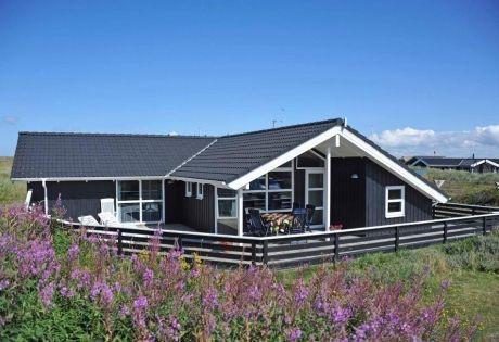 Ferienhaus mit geschl. Terrasse - 150 m bis zum Strand