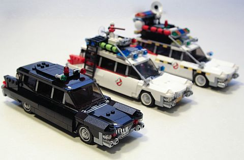 tinkering with the lego ghostbusters set legos. Black Bedroom Furniture Sets. Home Design Ideas