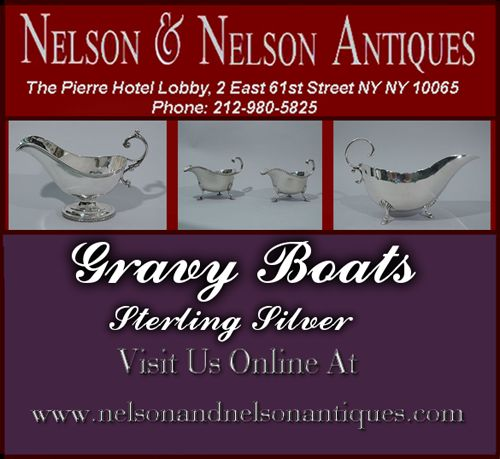 Gravy Boats Sterling Silver - Excellent Condition  Gorham Plymouth Sterling Silver Sauceboat 1926  Neoclassical Coin Silver Gravy Boat by Ball, Tompkins & Black C 1850  Georgian Style Sauceboat - American Sterling Silver C 1940  Georgian Gravy Boats - English Sterling Silver 1937  #GravyBoat #SterlingSilverGravyBoat #AntiqueGravyBoat #Hollowware #AntiqueHollowware #SterlingSilverHollowware #GorhamSauceBoat #SterlingSilverSauceBoat  #GravyBoat