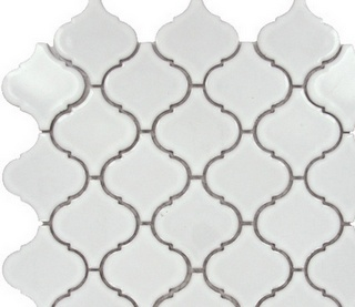 Lantern tile would make a great accent for a kitchen backsplash. Coupled with white shaker cabinet and a carrera marble countertop would make for a clean, classic look for any home.