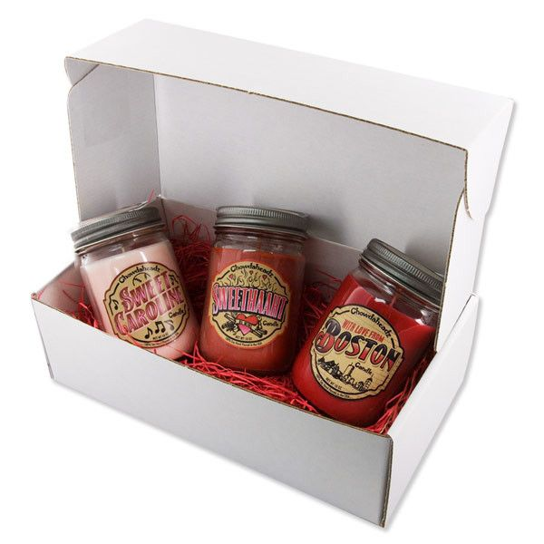 Sweet Valentine Candle Gift Set