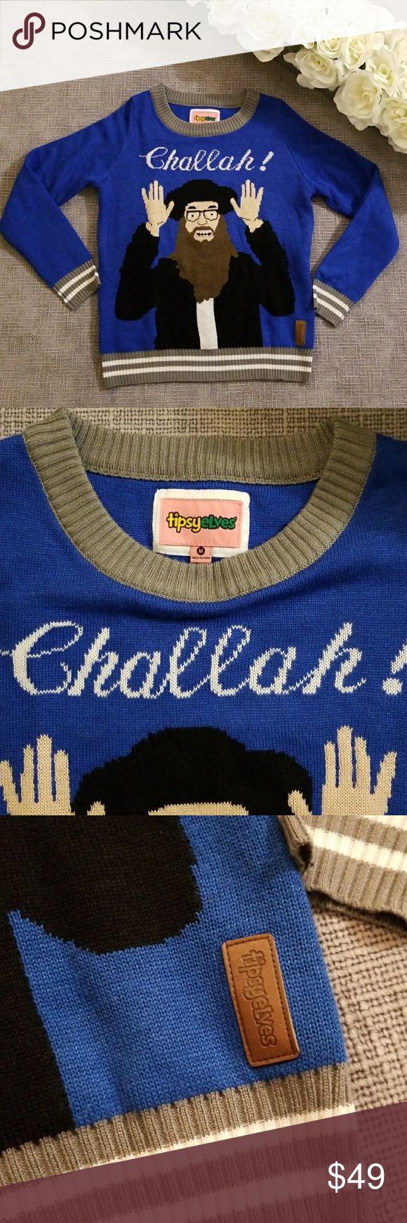 Holiday Hanukkah ugly sweater Holiday Hanukah ugly sweater Size M 19.5 inches underarm to underarm  24 inches shoulder to bottom tipsyelves Sweaters Crew & Scoop Necks