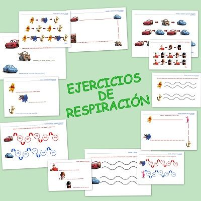 Ejercicios de respiración para niños y niñas