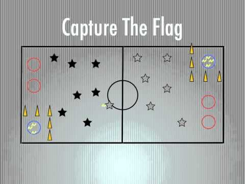 "PE Games - Capture The Flag ""physical education"" ""elementary"" ""middle school"" ""high school"""