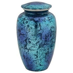 Blue Shimmer Cremation Urn | Urns for Ashes