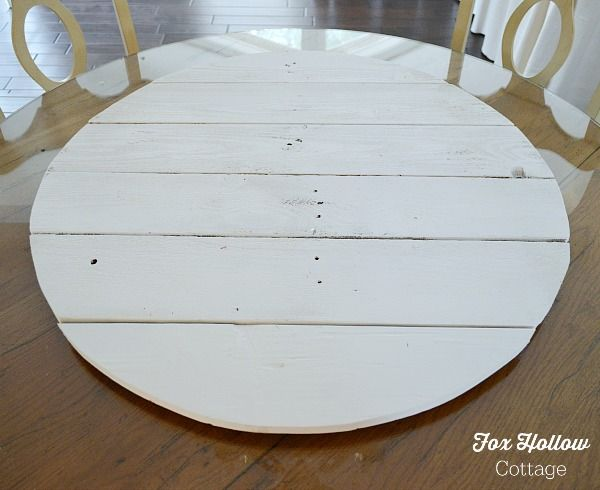 How To Make Pallet Wood Into A Round Circle Shape Diy