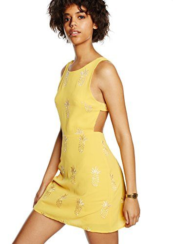 Vestido Mujer, Amarillo