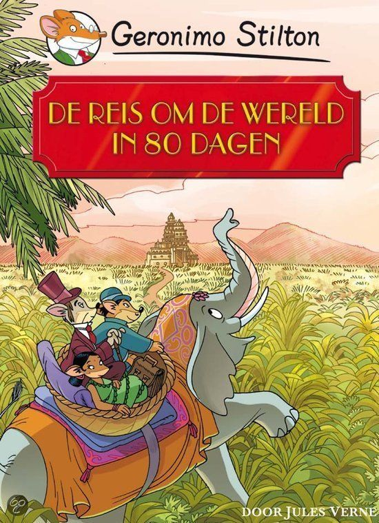 Phileas Fogg wedt met zijn beste vrienden dat hij in 80 dagen om de wereld kan reizen. Het verhaal speelt in 1872, dus niemand gelooft dat het hem zal lukken. Phileas gaat op weg Passepartout. Hij reist naar Egypte, naar India, naar Hong Kong, naar San Francisco en ga zo maar door. Dat doet hij per zeilschip, stoomtrein, olifant en stoomboot. Onderweg wordt hij gehinderd door detective Fix en ontmoet hij de beeldschone Indiase prinses Auda. Zou het hem lukken op tijd terug te zijn in Londen?