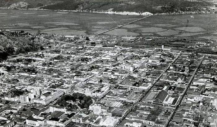Ciudad de Concepción en 1940.