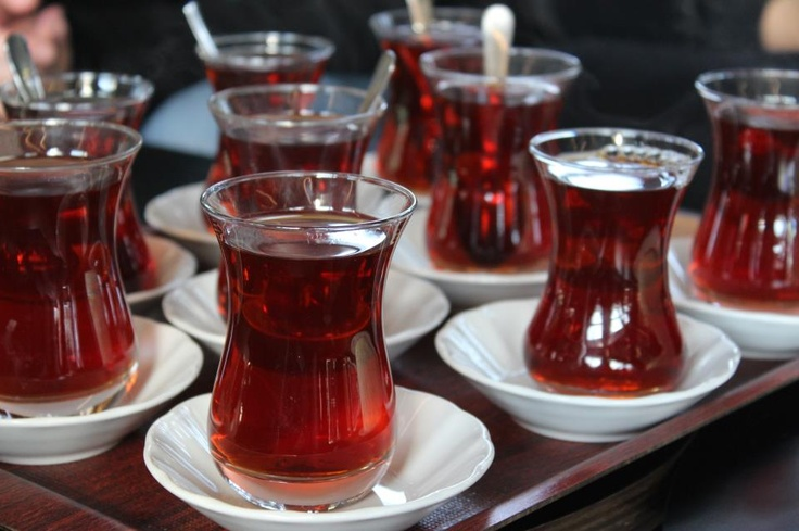 #turkishteawithturkishglass