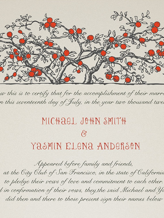 11 best Wedding Guestbook images on Pinterest Marriage - marriage certificate