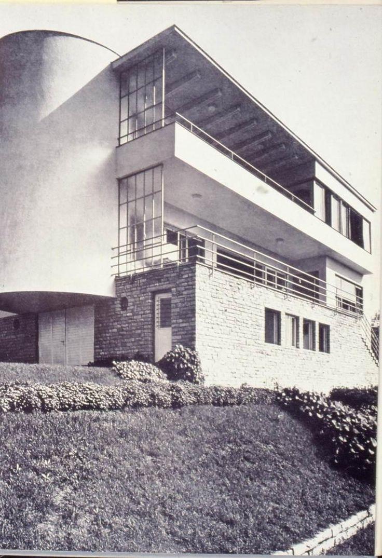 ! Budapest, kétlakásos ház, Berkenye utca, (Magyar villa), 1936. / Kozma Lajos