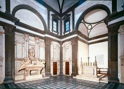 Michelangelo: Medicci kappeli, 1500-luku