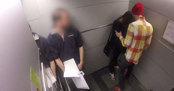 A Woman Is Abused In An Elevator...What One Woman Did Is Heroic