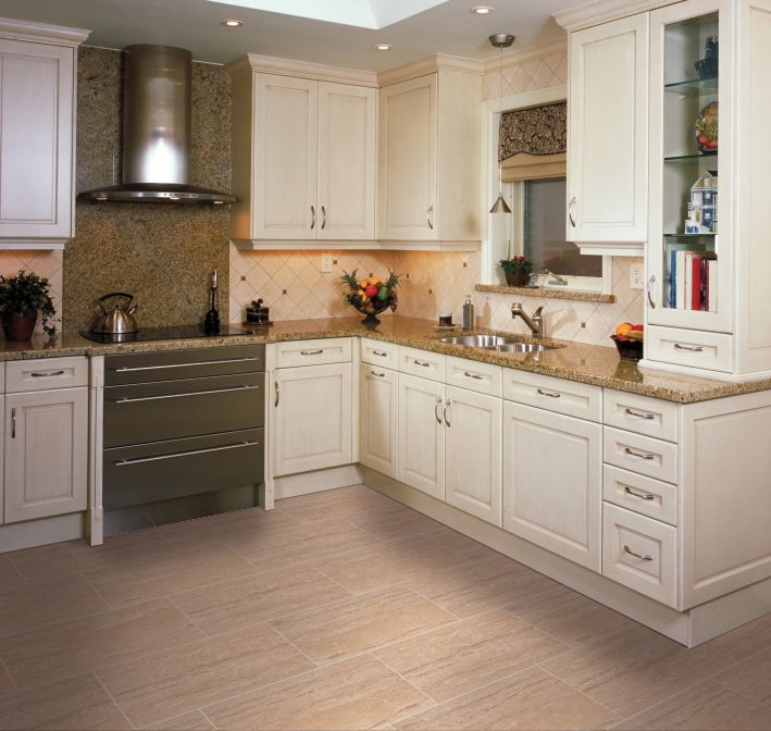 48 best flooring inspiration images on pinterest for White wood grain kitchen cabinets