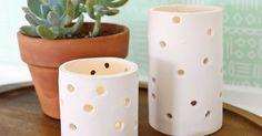 Návod na krásný keramický svícen – krok za krokem