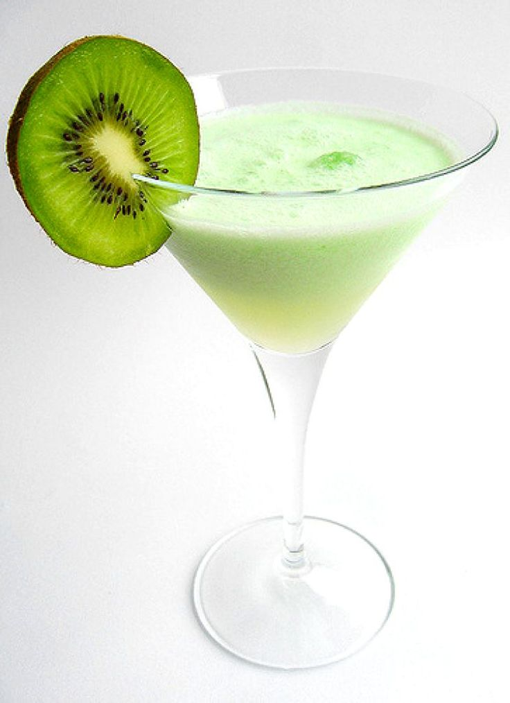 Kiwi Colada Cocktail Recipe ~ This is a great after-dinner drink that gives you all the wonderful flavors of the tropics. It might sound exotic, but its really easy to make and enjoy!