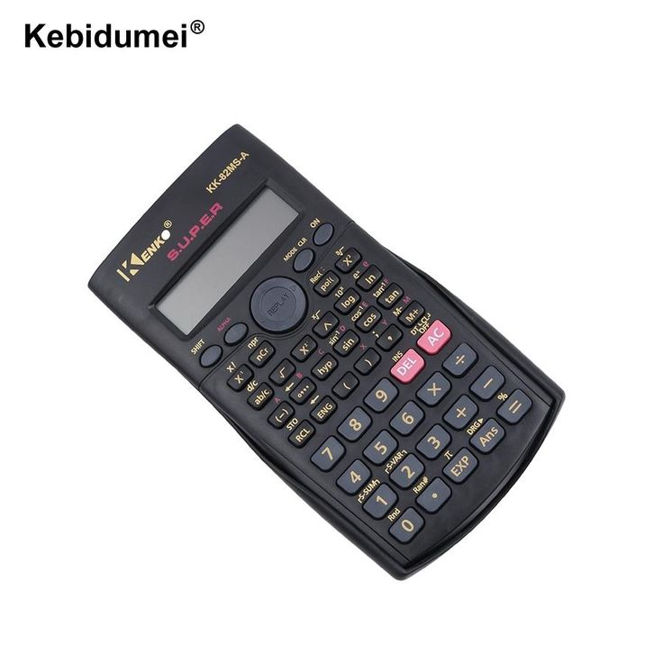 Handheld 82MS-A Multifunctional calculator 2 Line Display Scientific Calculator Multi-function 240 Functions Counter Calculating