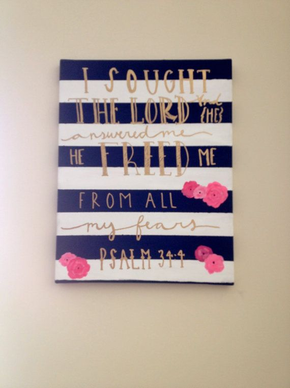 Hey, I found this really awesome Etsy listing at https://www.etsy.com/listing/190704308/striped-scripture-canvas-psalm-344